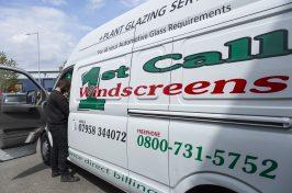 1st Call Windscreen van